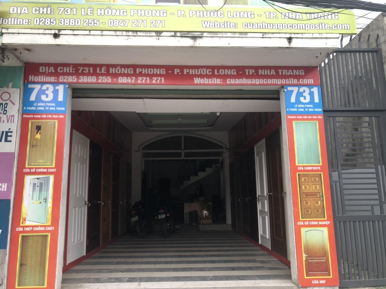 Cửa nhựa gỗ Composite tại Nha Trang - Khánh Hòa