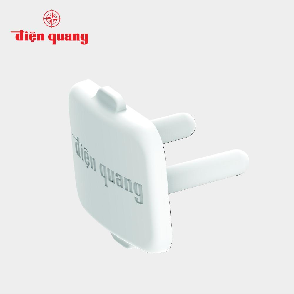 nút che ổ điện 2 chấu làm từ nhựa abs